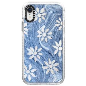 Casetify Blue Marble Daisies Impact Case
